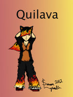 Quilava Girl by CrimsonJersey