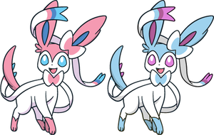 Shiny Sylveon Dream World by KrocF4