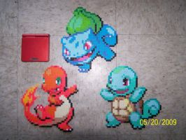 Starter Pokemon by Cristiaso