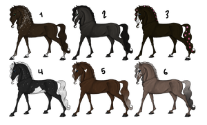 Mystery horse adopts-CLOSED- by StarlitStables