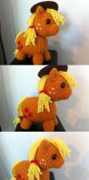 AppleJack Amigurumi (better quality) by Eyeheartz0rd