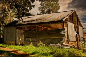 Shed - HDR by Braunaudio