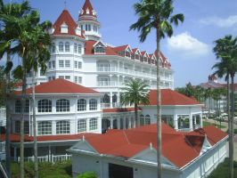 Disney's Grand Floridian Hotel by ENFLICTED