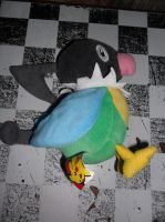 441 Chatot plush by xmorris33