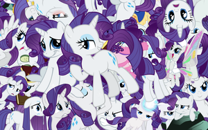 Rarity explosion wallpaper by Starlyk