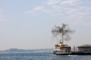 Istanbul ferry by BloodStainedKid