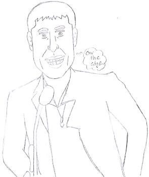 Worst Sketch of Robin Thicke by LUVKitty13