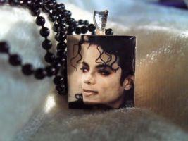 Michael Jackson Necklace by mjdrawings