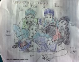 The Janoskians (Set This World On Fire) by tea-and-jumpers