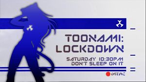 TOONAMI LOCKDOWN MTAC Flyer by Raffian
