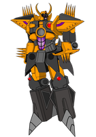 UNICRON WIP by THE-CHAOS-BRINGER