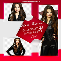 Photopack de Alex Russo by OverboardPhotopack30