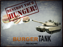Left 4 Dead: Burger Tank Sign (Fixed) by MrAngryDog