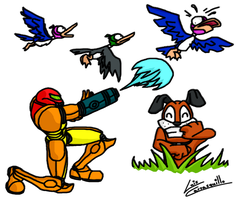 Samus the Duck Hunter by Lwiis64