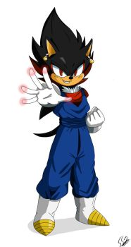 Vegeta and Shadow: Vegedow by ss2sonic