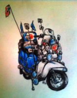 Lambretta-color by psychedelic-cookie