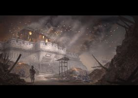 All that remains of the siege by ortsmor