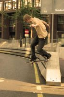 Danny - Backside Tailslide by Obscurity-Doll