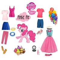 Pinkie polivore set by mexicangirl12