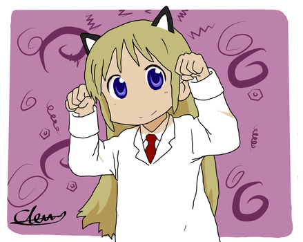 Professor From Nichijou by Zalcov