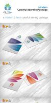 RW Colorful Corporate Identity by Reclameworks