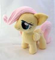 Fluttershy filly by SpaceVoyager