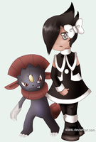 Marley and Weavile by Wakki