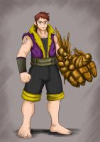 my self as Fairy Tail Character by clashnorton