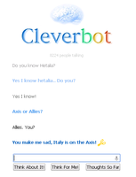 Talking about Hetalia with Cleverbot! 1 by zisanarbaz