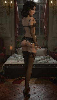 Midnight Rose by Pseudonym3D