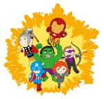 Little avengers by Zacramandy