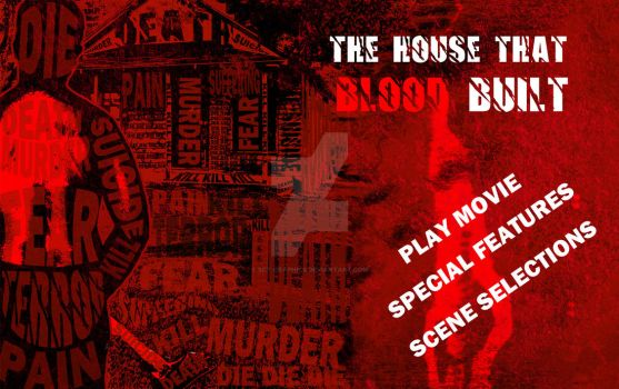 THE HOUSE THAT BLOOD BUILT DVD START MENU by SCT-GRAPHICS