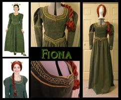 Princess Fiona Costume by Durnesque