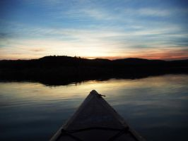 Afternoon on a kayak by etaciled