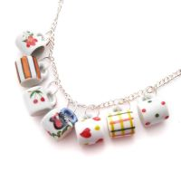 Dollhouse Mug Necklace by fairy-cakes