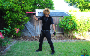 Cloud Strife Cosplay Incomplete 1 by sonicJKevin