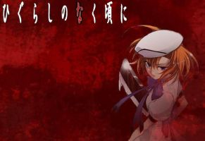 Higurashi Wallpaper by Cha-Moley
