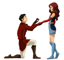 Commission: The Proposal by johngreeko