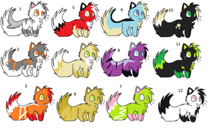 Cat breedables cheap by Icey-adopts