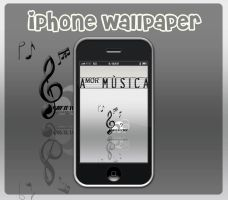 iPhone - Amor Musica by Billy-Belynda