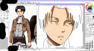 Rivaille WIP by AnimeShina