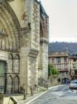 Medieval street and church - Cahors 20 by HermitCrabStock