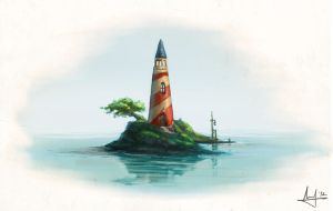 The Lighthouse by akiftop