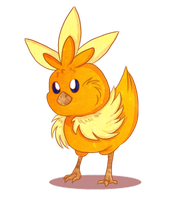 Torchic by FeatheredSoap