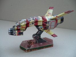 Homeworld-scout fighter paperc by savaskul