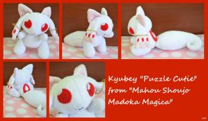 Commission: Kyubey Puzzle Cutie by CoffeeCupPup