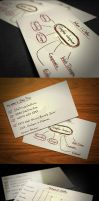 Doodle Business Card by KaixerGroup