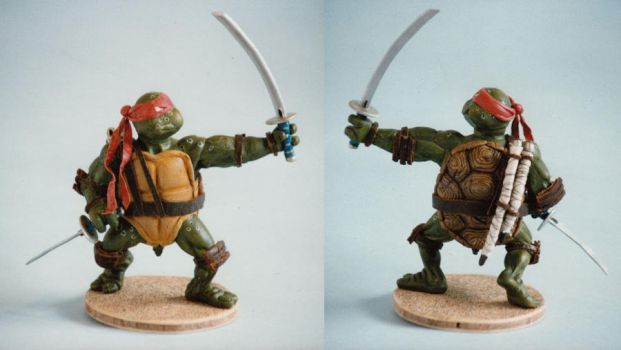 Ninja Turtle by Scarecrovv