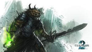 Guild Wars 2 | Charr Fanart by RyomaNinja