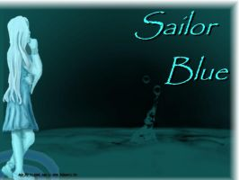 Sailor Blue Wallpaper 1 by gothicpysi